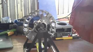 Equilibrage volant magnétique ZENOAH G240RC FG 1/5 PISTE