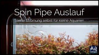 SPIN PIPE OUTFLOW | Sanfte Strömung selbst in kleinen Becken | AquaOwner