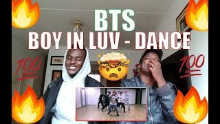 방탄소년단 '상남자(BTS - Boy In Luv)' dance practice | FIRST TIME REACTION Resimi