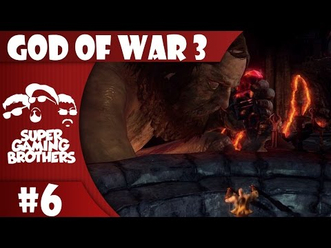 SGB Play: God of War III - Part 6 | Kratos and Hephaestus, Gods of Ventriloquism