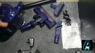 Puppyoo WP536 Handheld Cordless Vacuum Cleaner (Review+Testing)