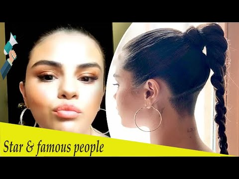 Selena Gomez debuts edgy undercut while visiting Puma's German office