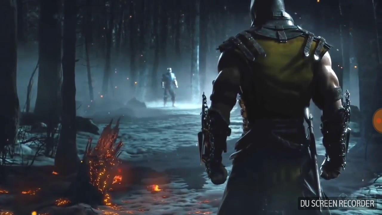 Mortal Kombat X Scorpion vs Subzero Screenshot Cinematic