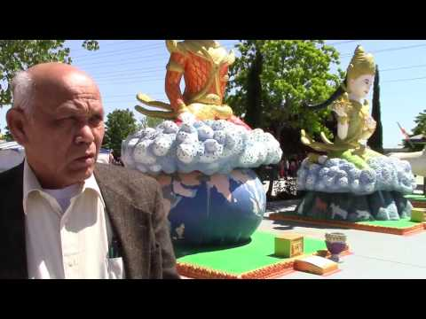 Father's Tour of Stockton Temple during Khmer New Year 2016 (USA)