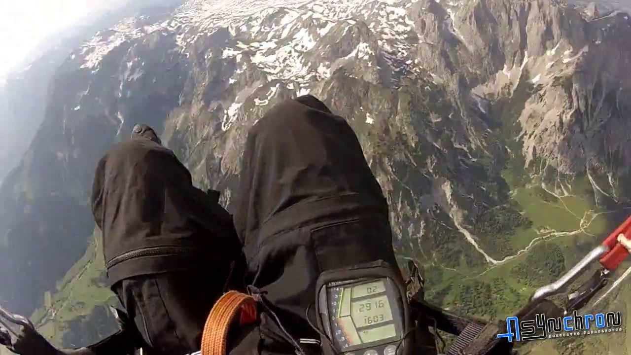 Paragliding - how to center thermals perfectly - upwards helico