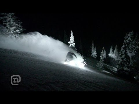 Night Rider Floodlight Snowboard: Every Third Thursday