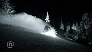 Night Rider Floodlight Snowboard: Every Third Thursday