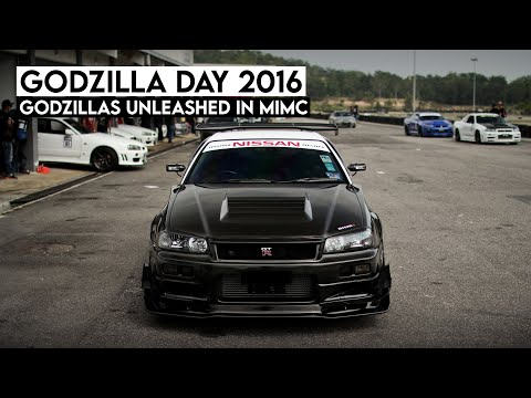 2016 GodZilla Day - Historical Gathering of Nissan Skylines in Malaysia