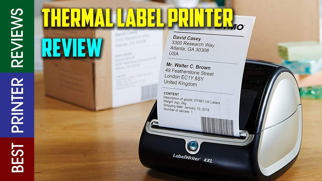 Top Shipping Label Printers 2019