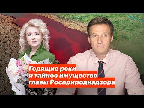 Горящие реки и тайное имущество главы Росприроднадзора - Видео онлайн