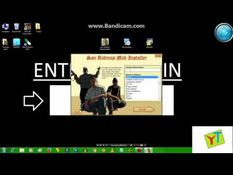 HOW TO INSTALL GTA SA MOD INSTALLER IN WINDOW 7 & HOW TO INSTALL GTA SA CAR  MODE in GTA SA