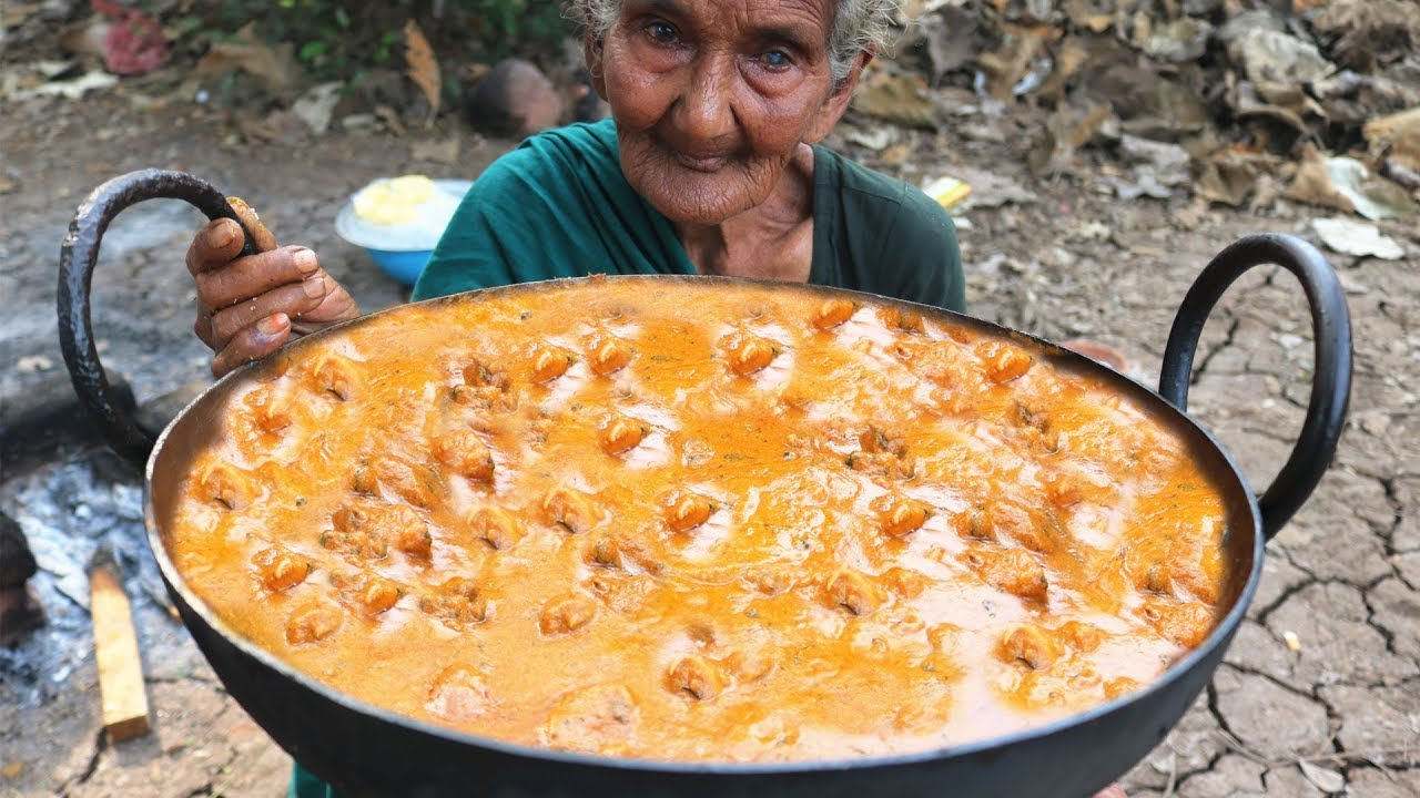 Butter Chicken With Butter Naan Recipe By 106 Mastanamma Youtube