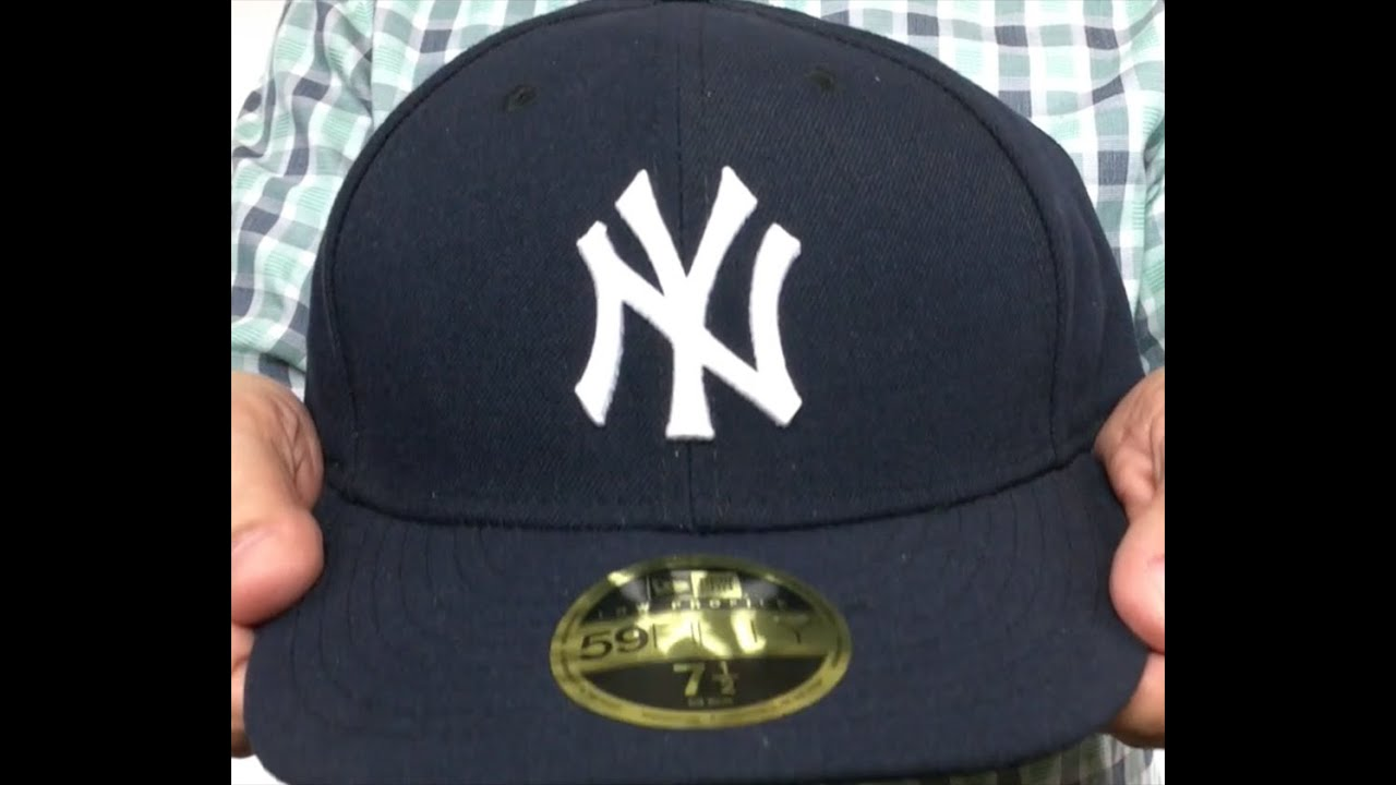 buy popular c32f0 3e7a9 ... where can i buy yankees low crown game fitted hat by new era youtube  c2142 a1fe2