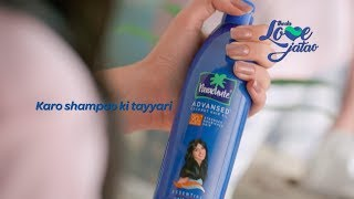 Get Shampoo Ready only with Parachute Advansed [Telugu]