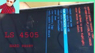 LYF LS 4505 HARD RESET