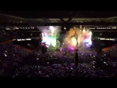 Coldplay Opening @  Suncorp Stadium, Brisbane Australia 2012