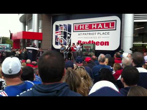 Drew Bledsoe: Patriots HOF Induction - Prank Story