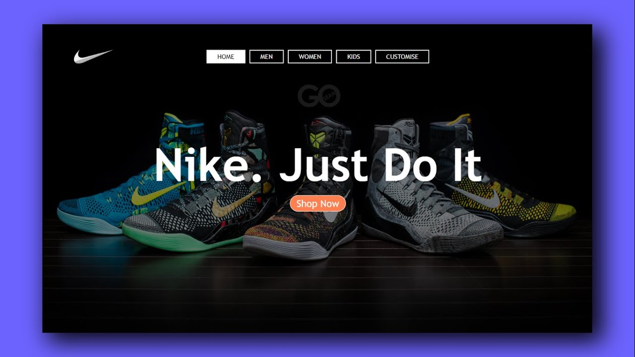 Create A Landing Page Using Html Css