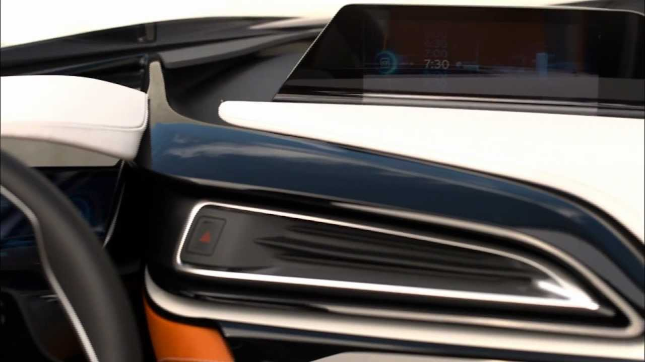 Interior Design Bmw I8 Spyder Youtube