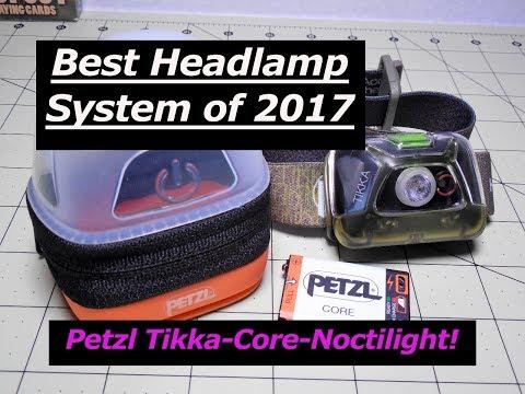 Best Headlamp System 2017: Petzl Tikka, Core, and Noctilight