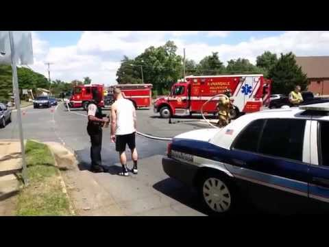 Car Accident on Columbia Pike in Annandale, VA 5-23-2014