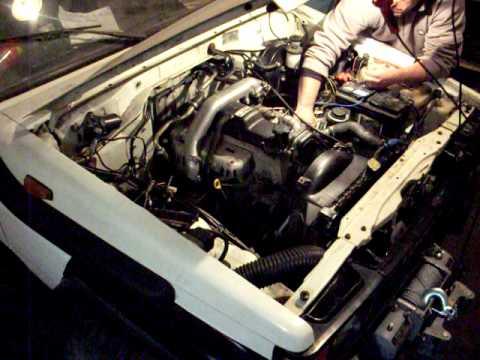 Фото к видео: Toyota lj 70 motore 3000 1kz-t