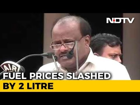 As Fuel Prices Spiral, Karnataka Announces Rs. 2-Cut For Petrol, Diesel