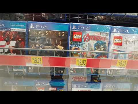 PS4 Gaming At Walmart - Oct. 2019