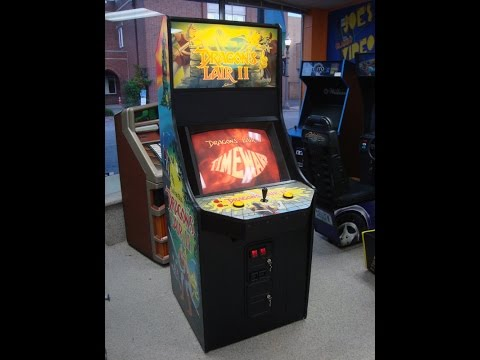 Dragon's Lair II : Time Warp 1991 Leland Arcade Game!  Laser