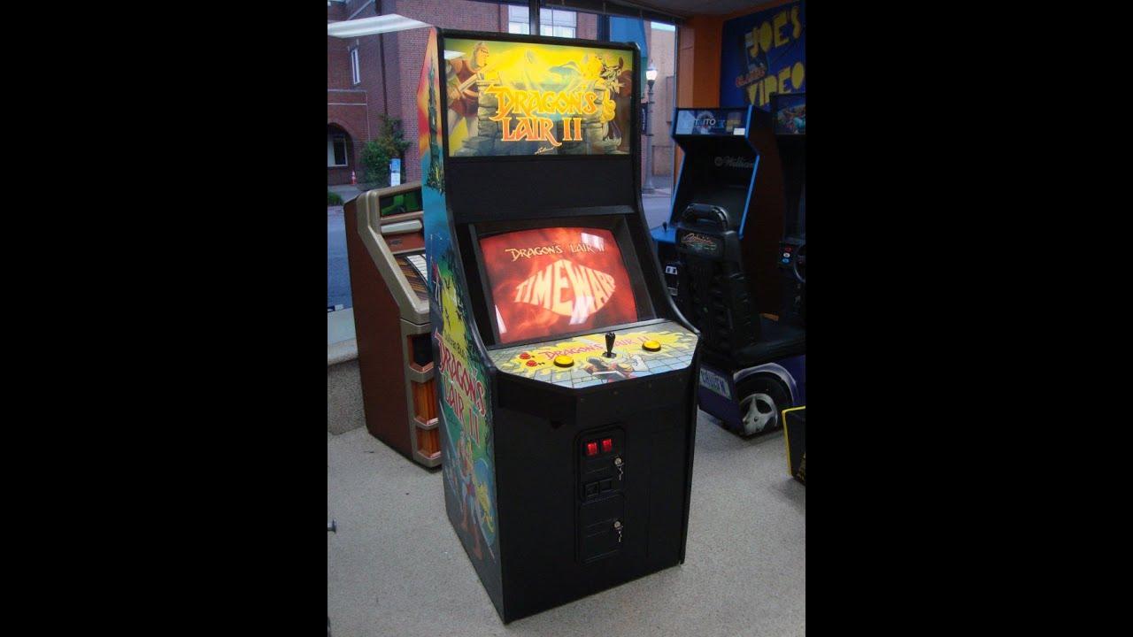 Dragon's Lair II : Time Warp 1991 Leland Arcade Game! Laserdisc ...