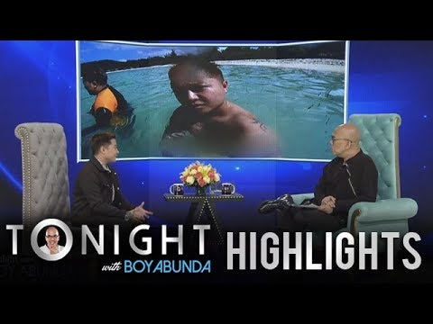 TWBA: Jake shares the story behind his topless beach photo thumbnail