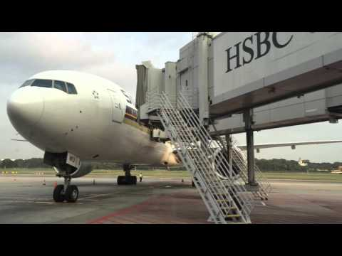 Apron Tour of Singapore Changi Airport 19th August 2015 (PART 1)
