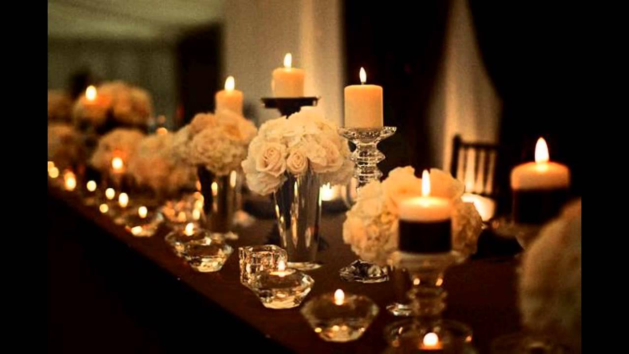 Classy themed wedding decorations ideas - YouTube