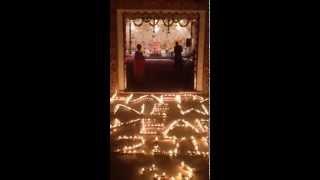 HAPPY NEW YEAR 2015 Pt. Devendra Kaushik IN SRI KRISHNA MANDIR NEW AMSTERDAM South America GUYANA