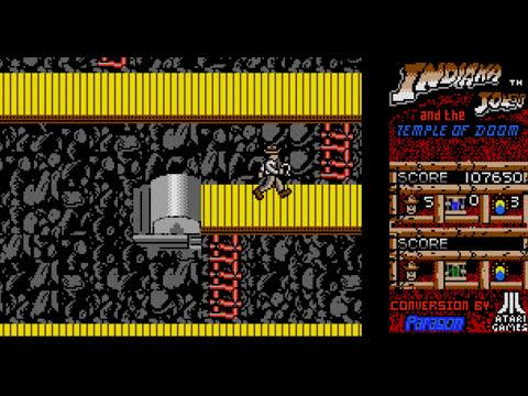 Atari ST Longplay - Indiana Jones and the Temple of Doom