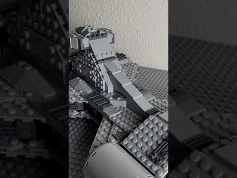 Moff Gideon Light Cruiser - Lego Star Wars #shorts #lego
