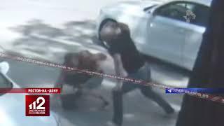 Маршрутчик избивает пассажира. Видео!