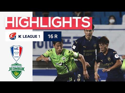 Suwon Bluewings Jeonbuk Goals And Highlights