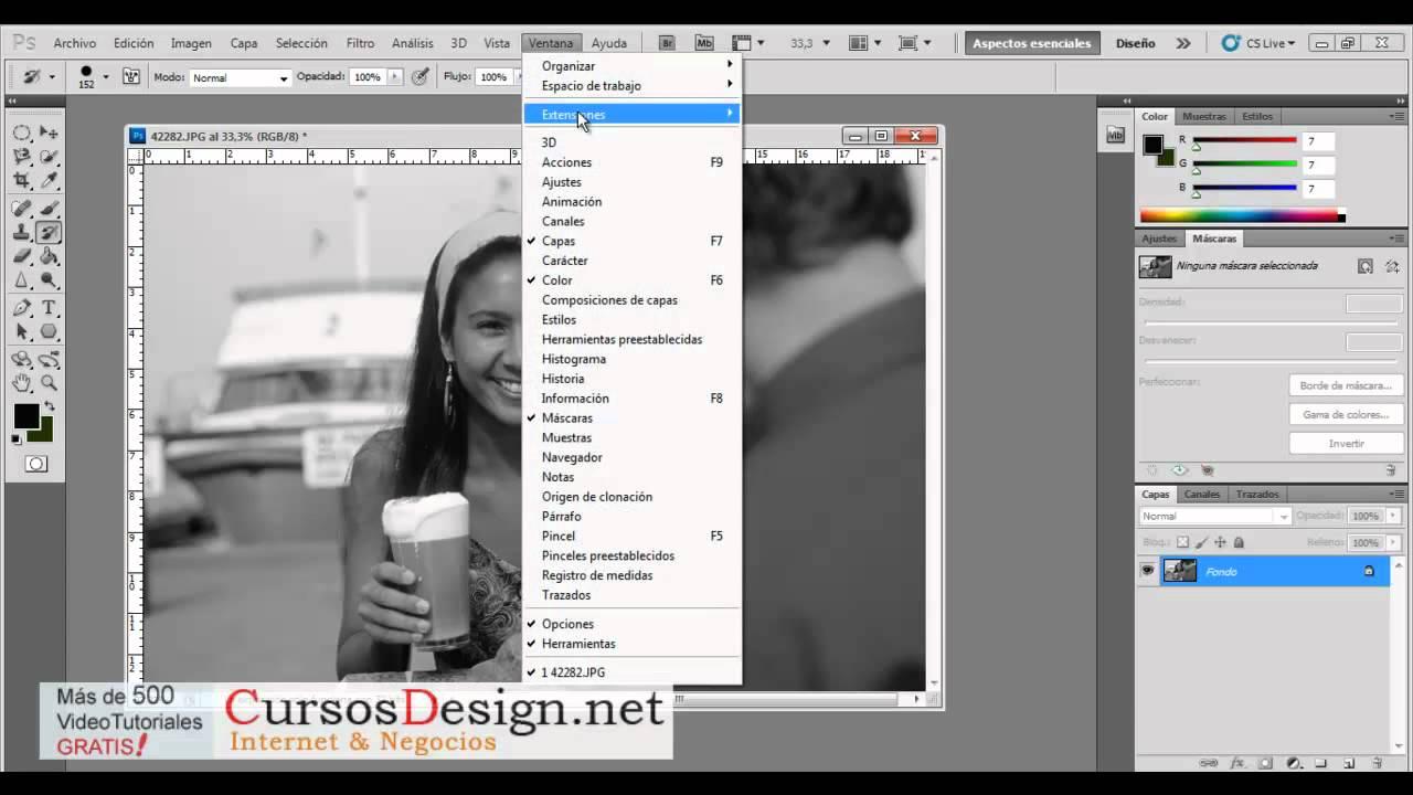 Por que el pincel no me funciona en nueva capa? | Adobe ...