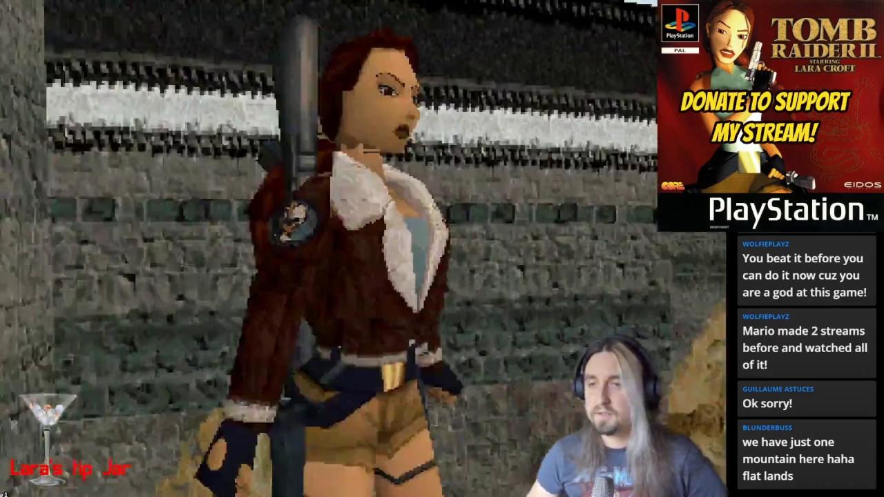 Tomb Raider 2 Starring Lara Croft Ps1 Live Playthrough 3 3 Youtube