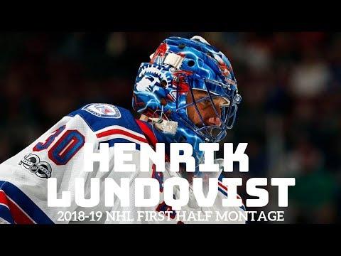 HENRIK LUNDQVIST - 2018-19 NHL SEASON FIRST HALF MONTAGE