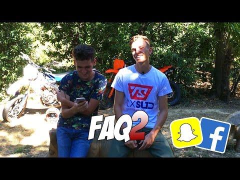 JE RÉPONDS A VOS QUESTIONS ! #2 (Snapchat et Facebook)