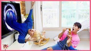 아빠 몰래 뽀로로 짜장면 먹기 하면 안되는 이유? 색깔 주방놀이 장난감 요리놀이 Learn Colors Pororo noodle pretend play with kids toys