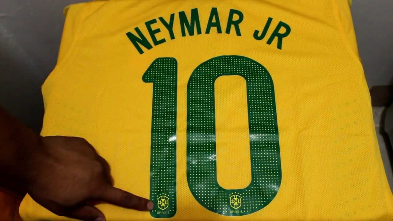 ac3ad997b Review of Nike Brazil Home Jersey 2013 2014 - YouTube