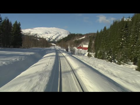 [9:56 Hours] Train Journey to the Norwegian Arctic Circle, WINTER [1080HD] SlowTV