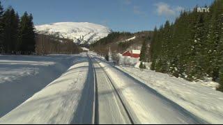 Train Journey to the Norwegian Arctic Circle, WINTER