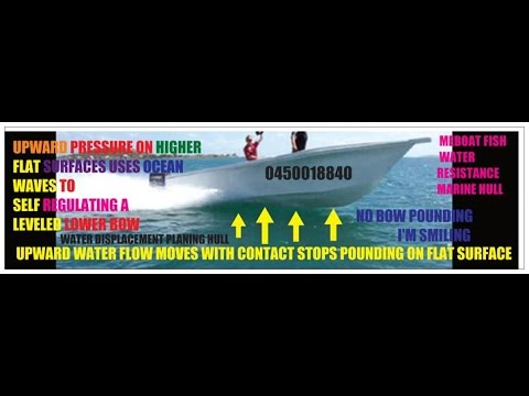 Fish dynamic Hydrofoils demo Meboat videos