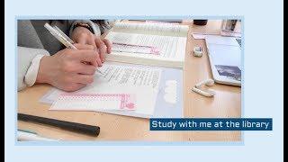 [도서관백색소음 3탄] LIBRARY 2HOURS (STUDY WITH ME)  | 도서관에서 같이공부해요! (real time) | 수린 suzlnne thumbnail