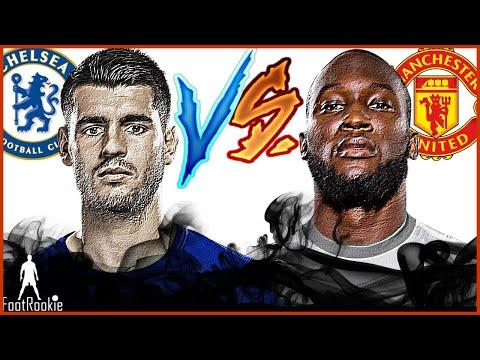 Álvaro Morata vs Romelu Lukaku • Chelsea FC vs Manchester United • 5 november 2017
