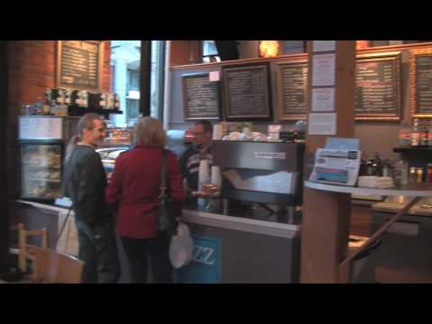 The Buzz Cafe: Free Wifi in a Vancouver Art Gallery